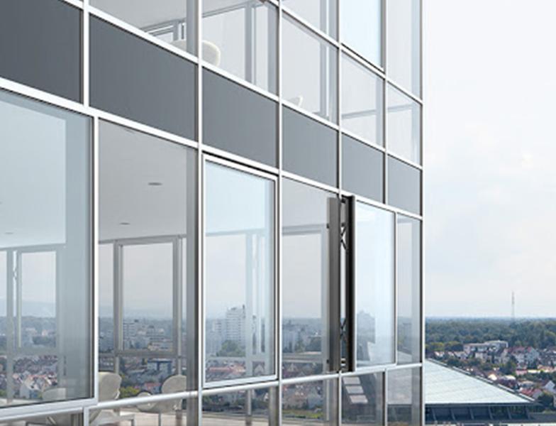 curtainwall glass repair service in qatar