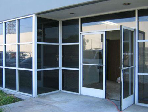 Glass Automatic doors